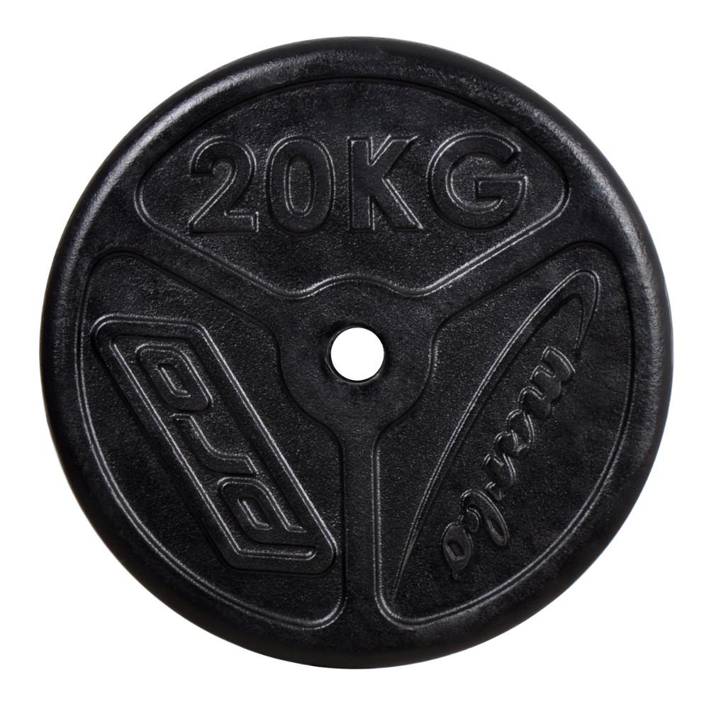 Liatinový kotúč Marbo Sport MW-O20 Slim 20 kg