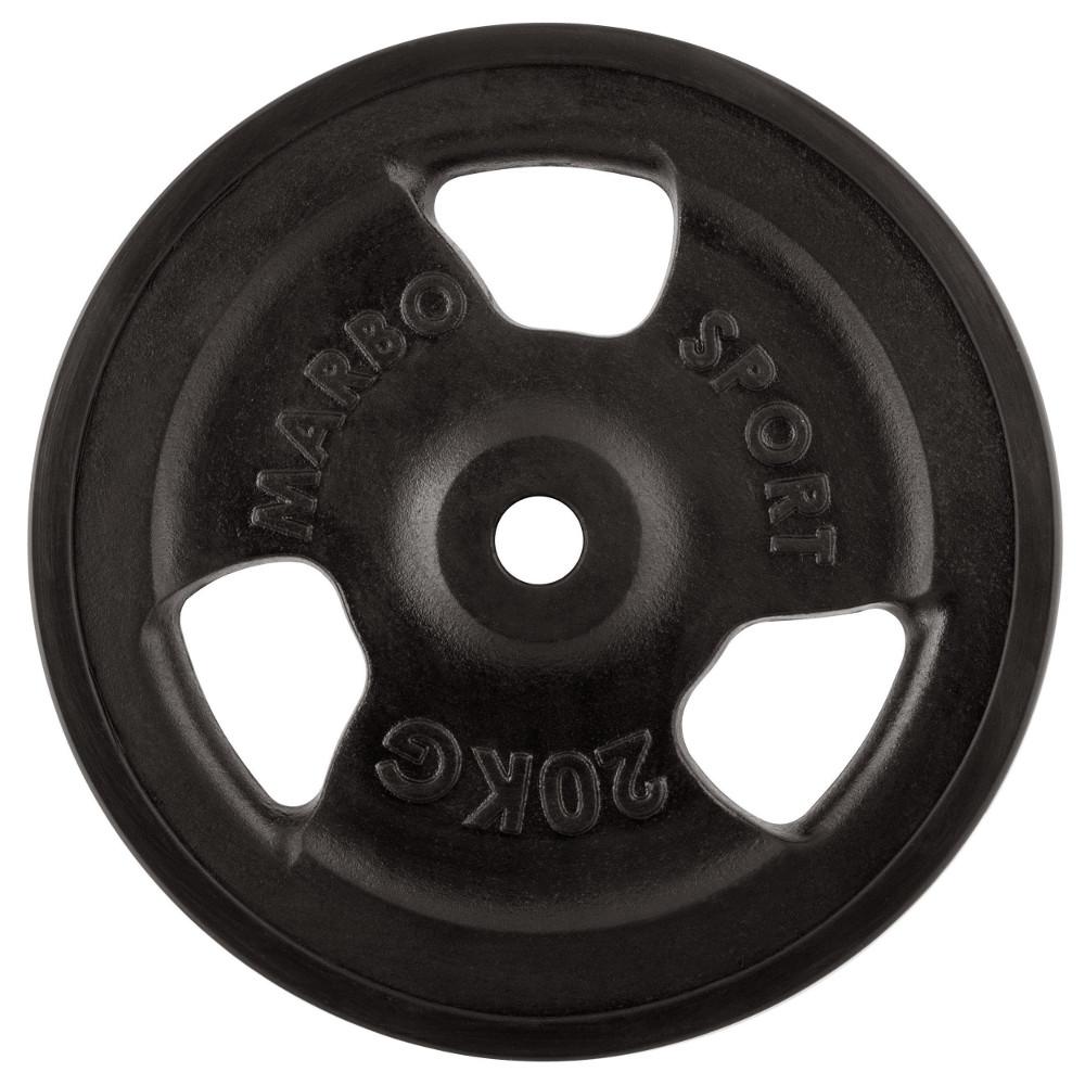 Pogumovaný kotúč Marbo Sport MW-O20G 20 kg
