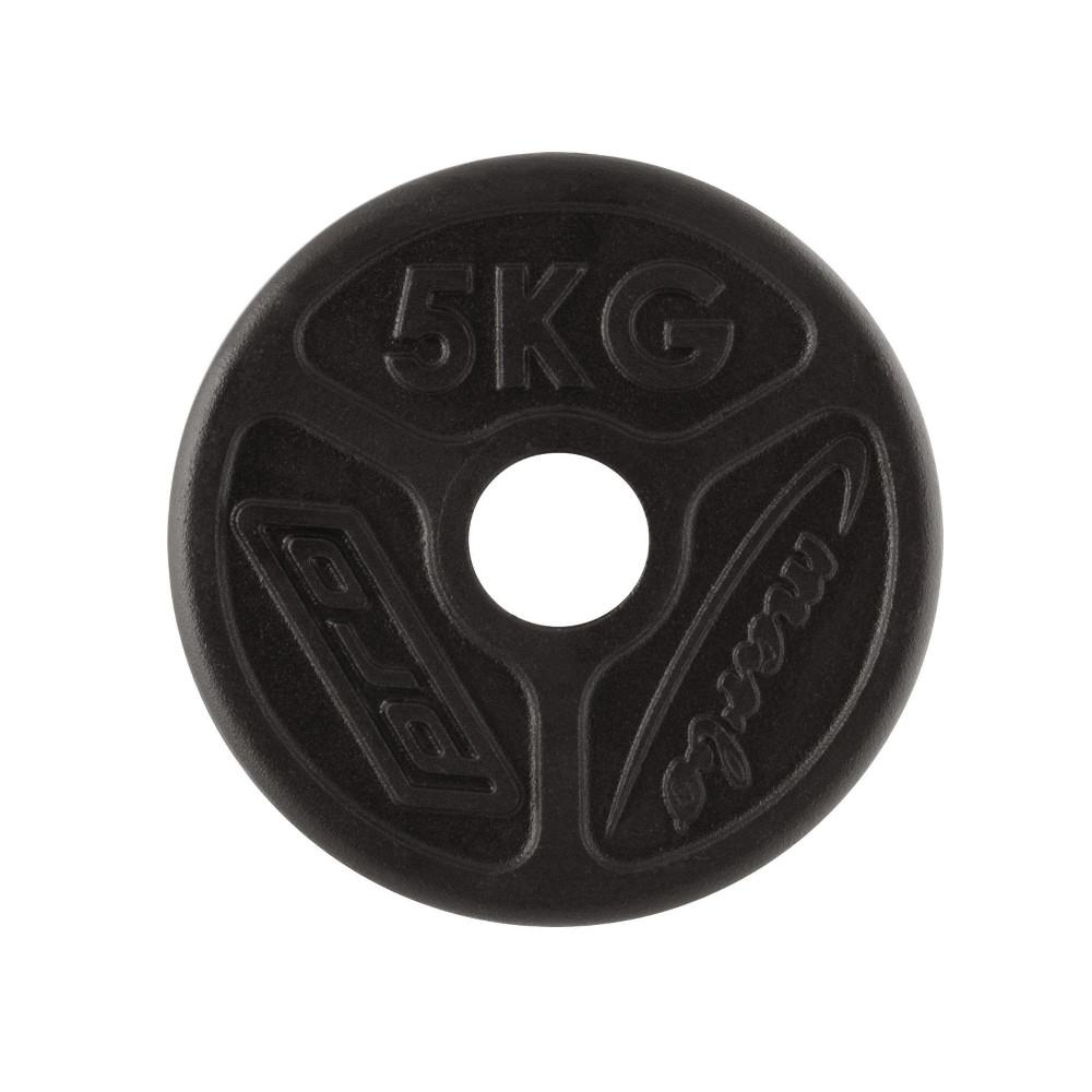 Olympijský liatinový kotúč Marbo Sport MW-O5 OLI 5 kg