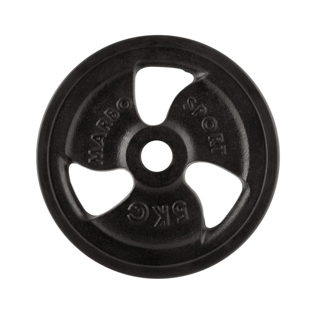 Pogumovaný kotúč Marbo Sport MW-O5G 5 kg