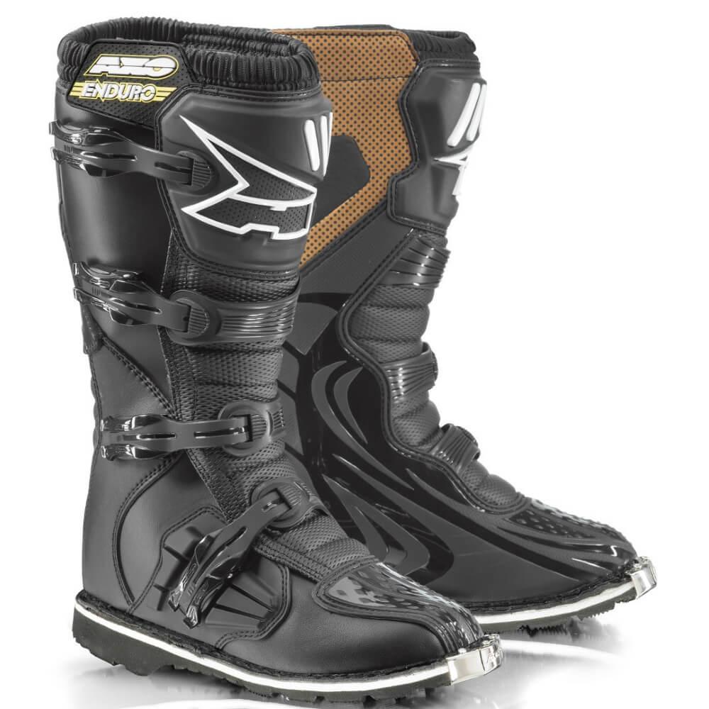 Motokrosové topánky AXO Drone Enduro čierna - 46