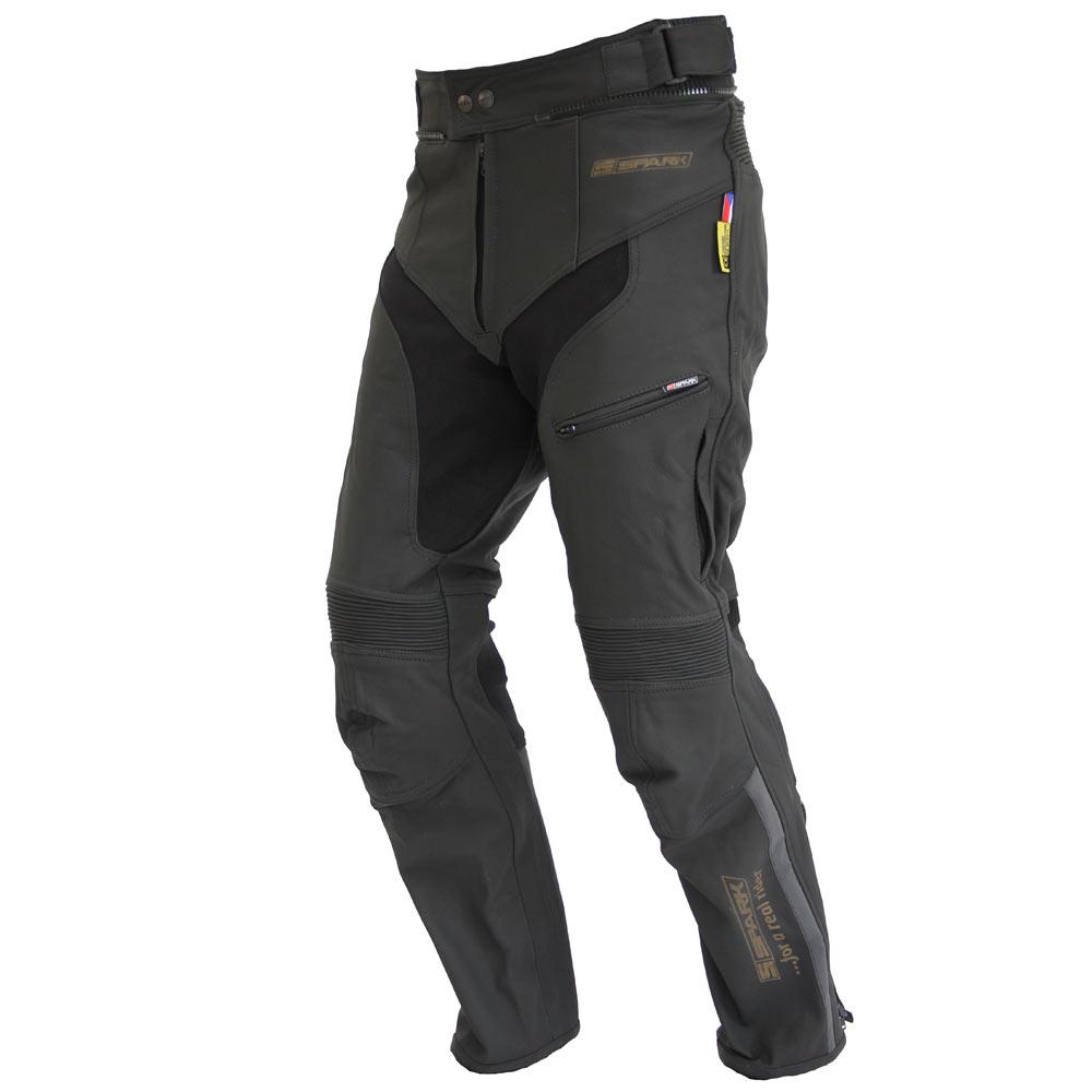 Kožené moto nohavice Spark Mike