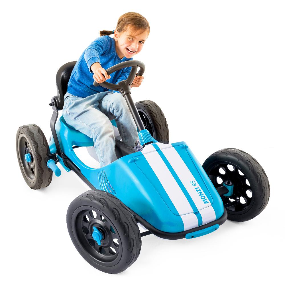 Šlapacie autíčko pre deti Chillafish Monzi-RS modrá