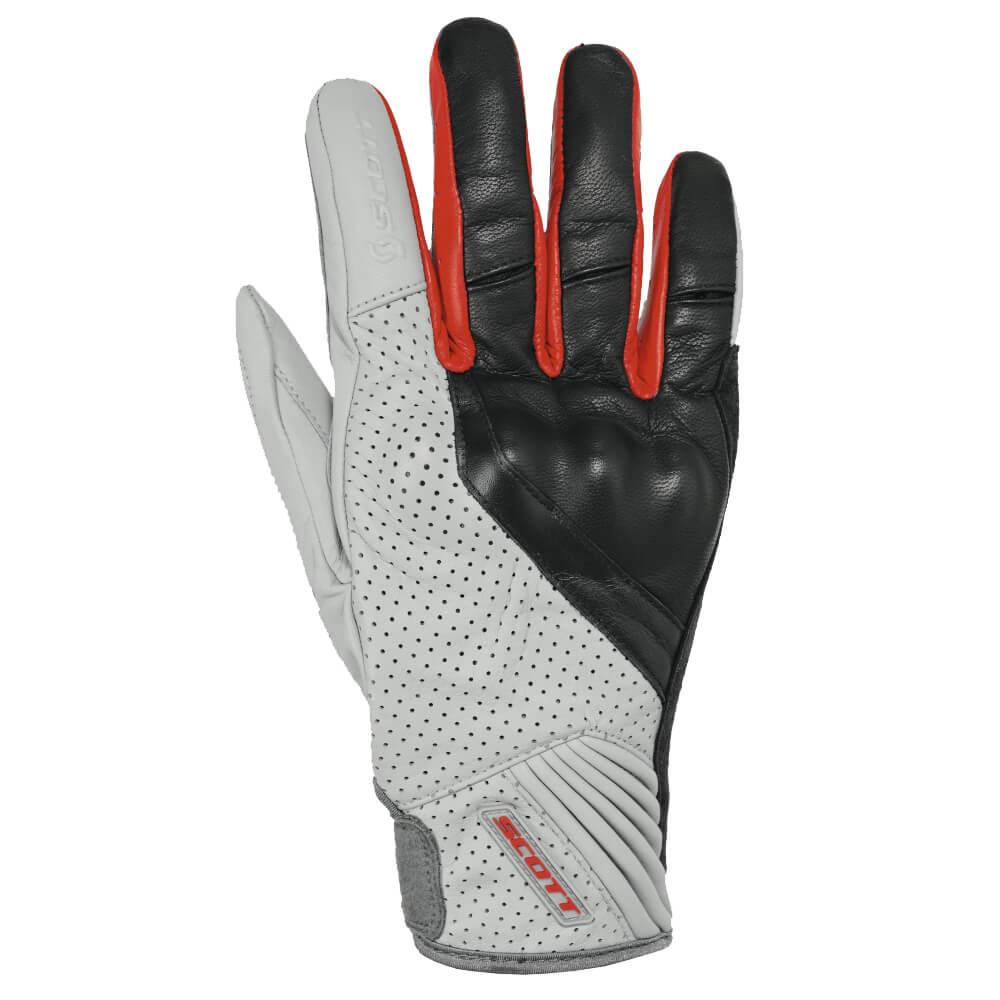 Moto rukavice SCOTT Lane 2 čierno-červená - S