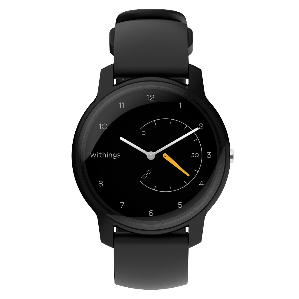 Inteligentné hodinky Withings Move Black / Yellow