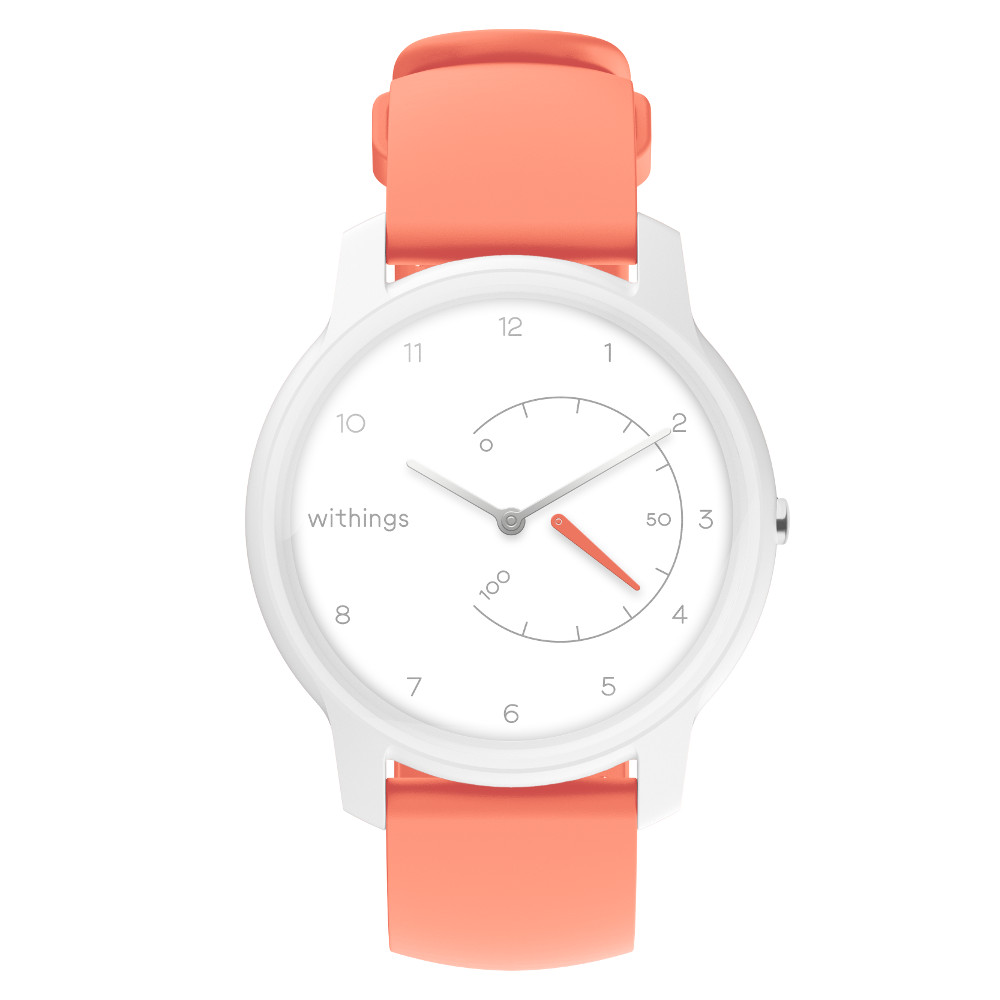 e3bee9cff Inteligentné hodinky Withings Move White / Coral