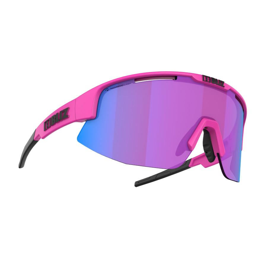 Športové slnečné okuliare Bliz Matrix Nordic Light 2021 Matt Neon Pink