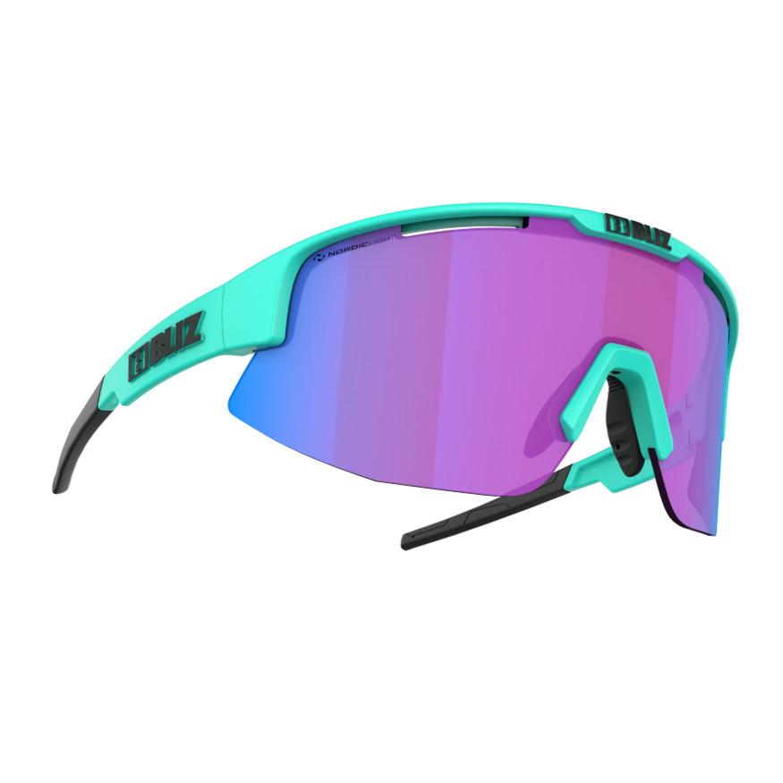 Športové slnečné okuliare Bliz Matrix Nordic Light 2021 Matt Turquoise