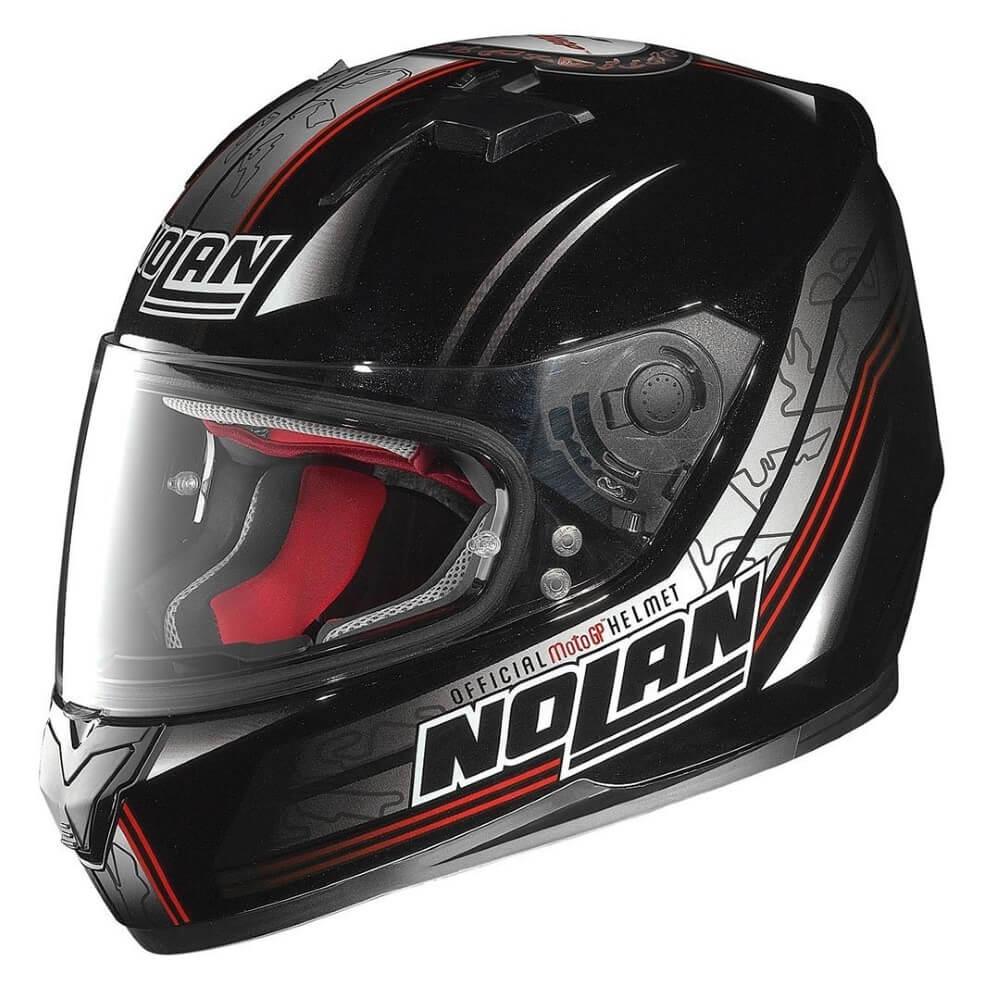 Moto prilba Nolan N64 Moto GP Metal Black M (57-58)