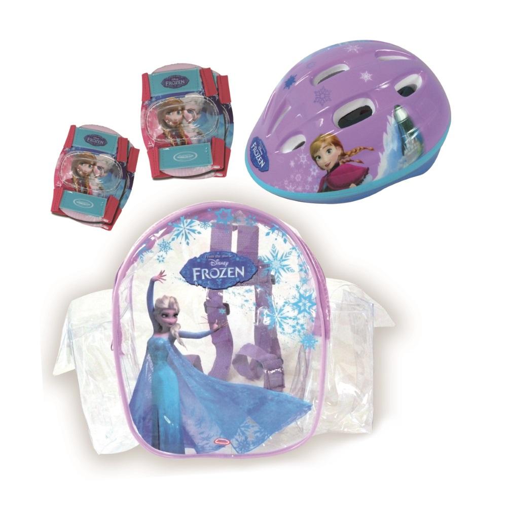 Sada chráničov a helmy Frozen s taškou