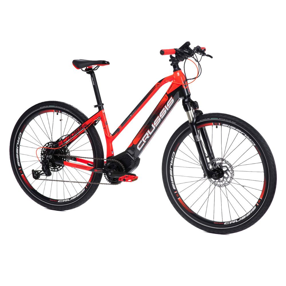 "Dámsky crossový elektrobicykel Crussis OLI Cross Lady 8.6-S - model 2021 17"" - Záruka 10 rokov"