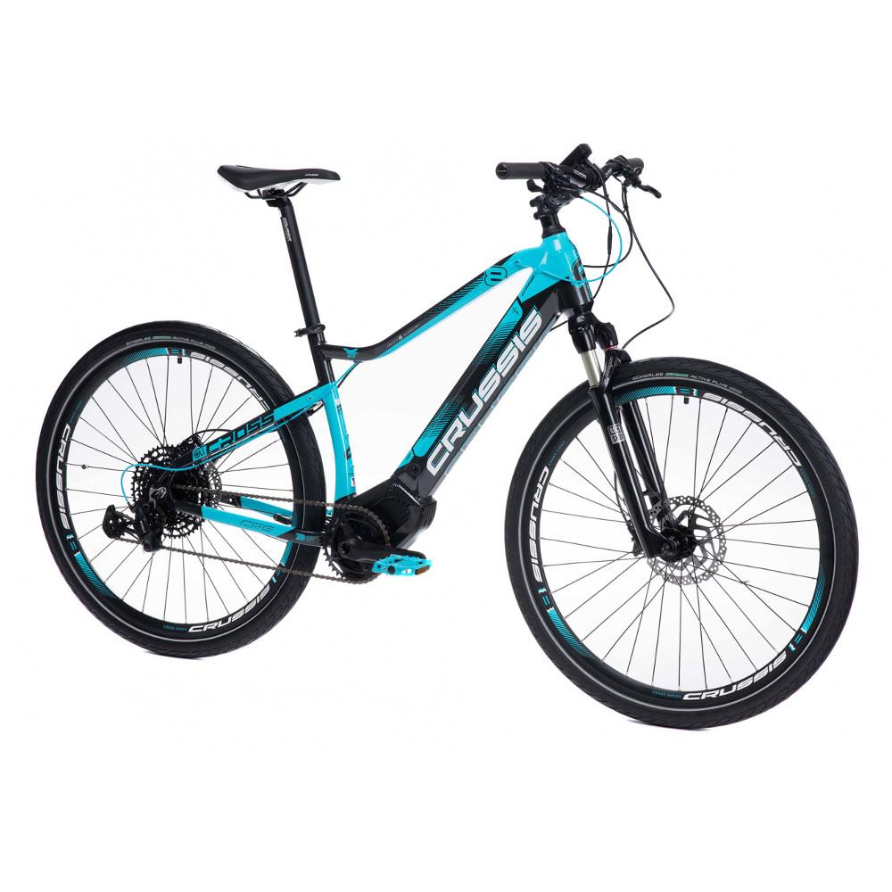 "Crossový elektrobicykel Crussis OLI Cross 8.6-S- model 2021 18"" - Záruka 10 rokov"