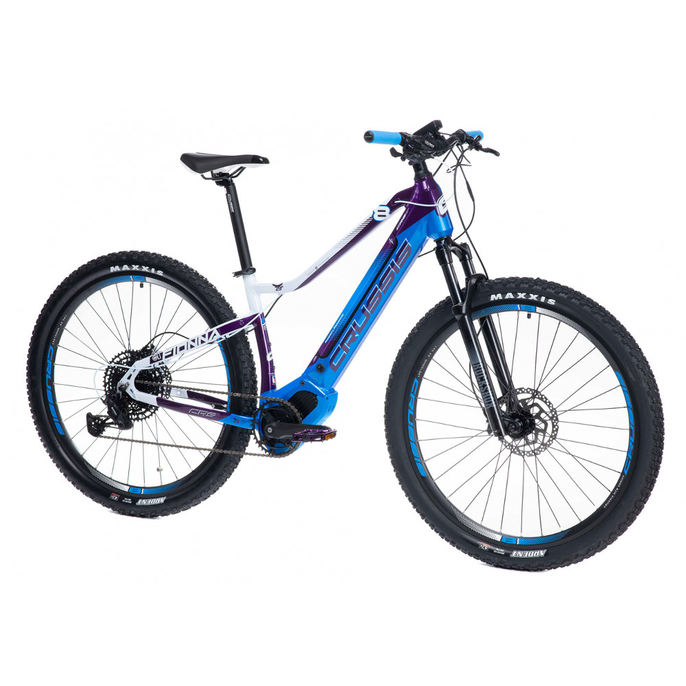 """Dámsky horský elektrobicykel Crussis OLI Fionna 8.6-S - model 2021 17"""" - Záruka 10 rokov"""