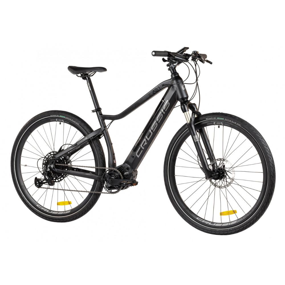 """Crossový elektrobicykel Crussis ONE-Cross 9.6-S - model 2021 18"""" - Záruka 10 rokov"""