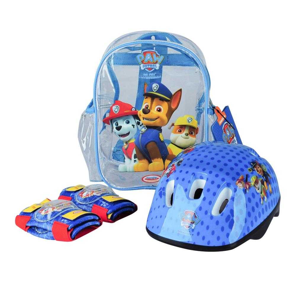 Sada chráničov a helmy Paw Patrol s taškou