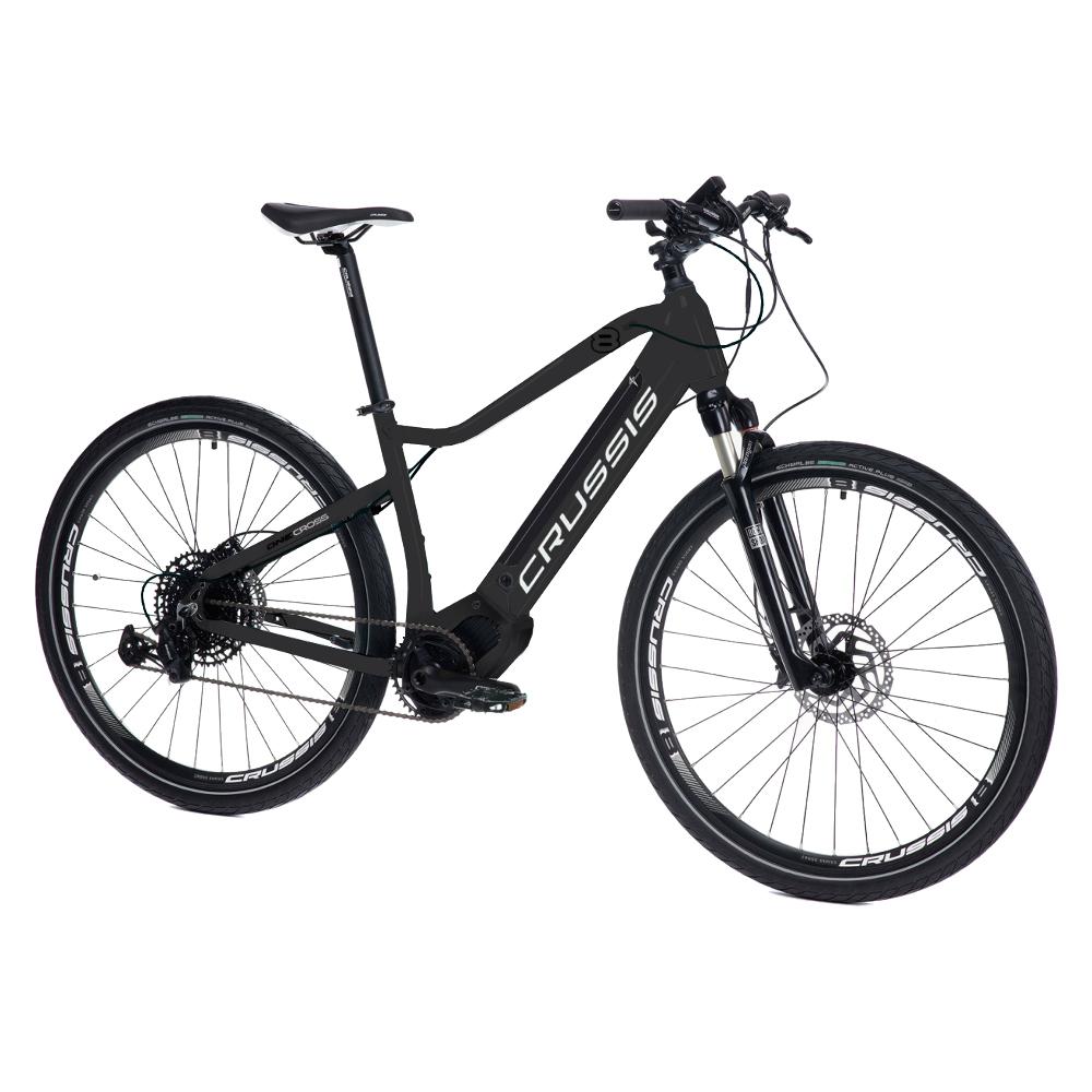 "Crossový elektrobicykel Crussis ONE-OLI Cross 8.6-S- model 2021 18"" - Záruka 10 rokov"