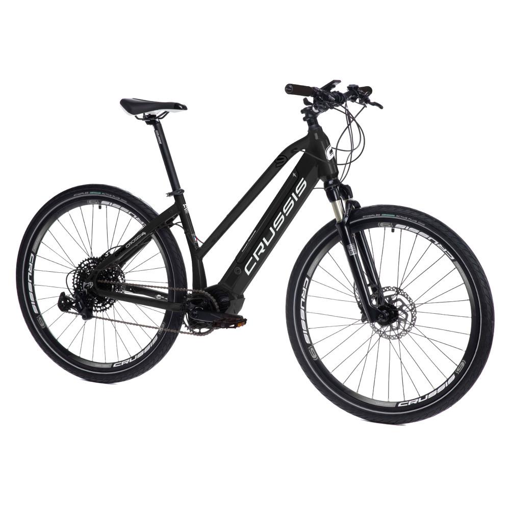 "Dámsky crossový elektrobicykel Crussis ONE-Cross Lady 9.6-S - model 2021 17"" - Záruka 10 rokov"