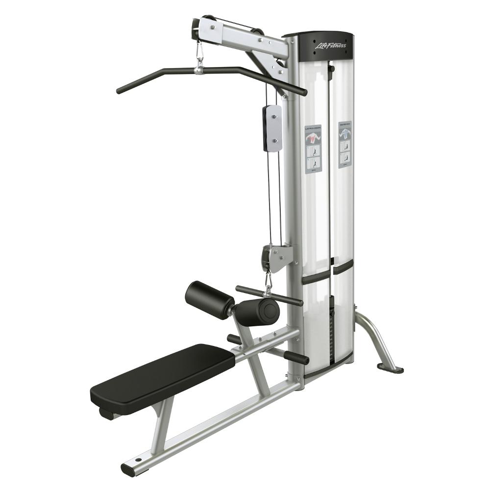 Horné a spodné príťahy Life Fitness Optima Lat Pulldown/Row - Montáž zadarmo + Servis u zákazníka