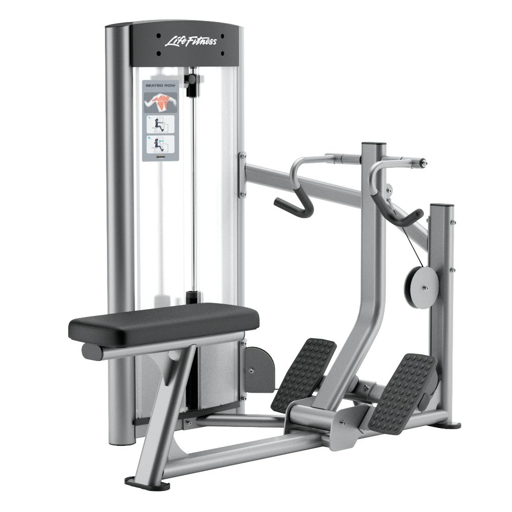 Posilňovací stroj na chrbtové svaly Life Fitness Optima Seated Row - Montáž zadarmo + Servis u zákazníka