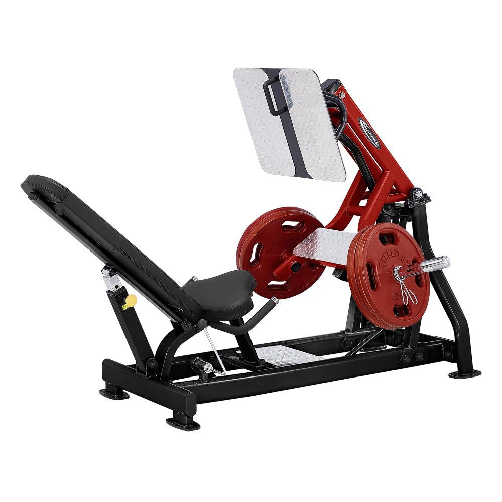 Leg press Steelflex Plateload Line PLLP čierno-červená - Záruka 10 rokov + Servis u zákazníka