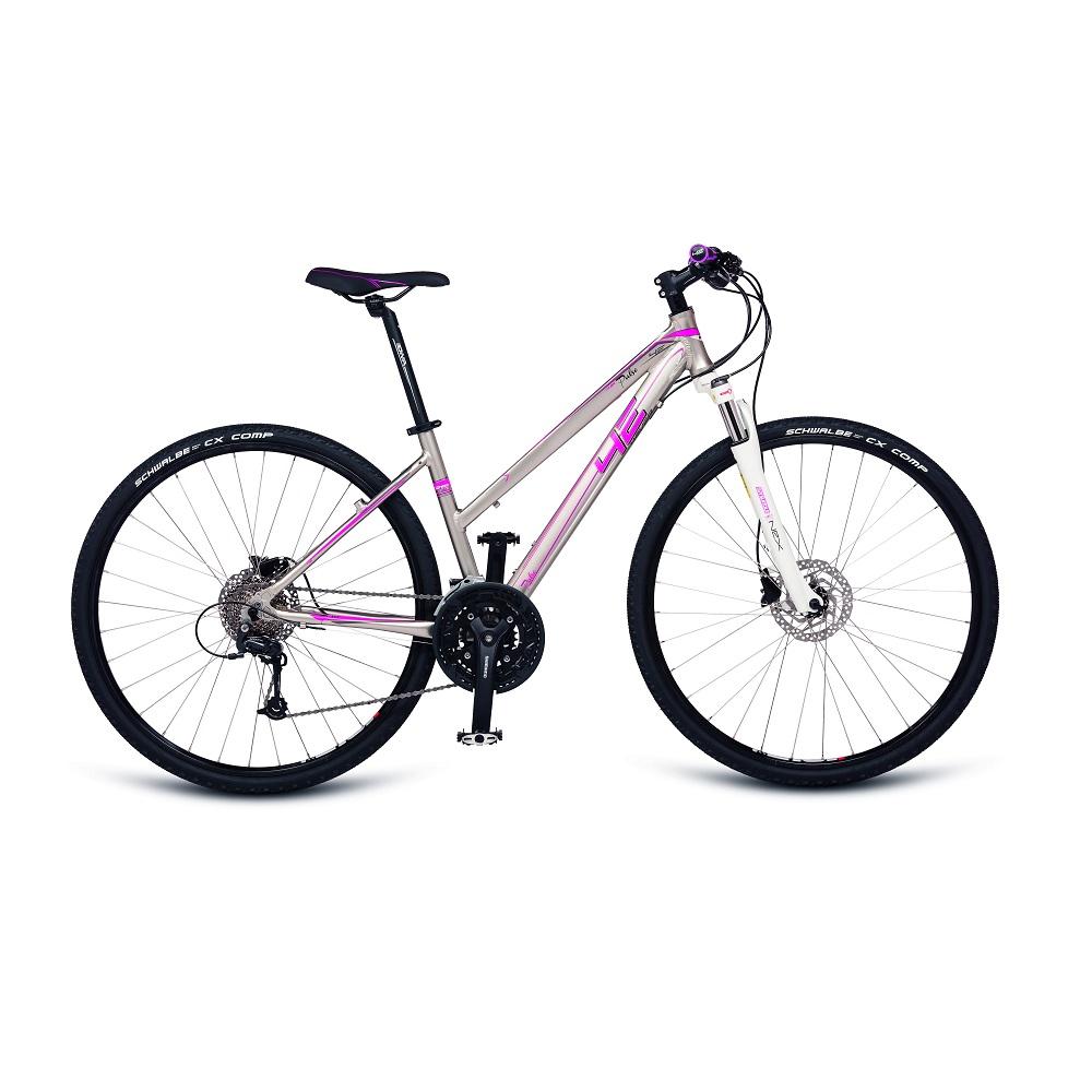 Dámsky crossový bicykel 4EVER Pulse Disc 28'' - model 2017