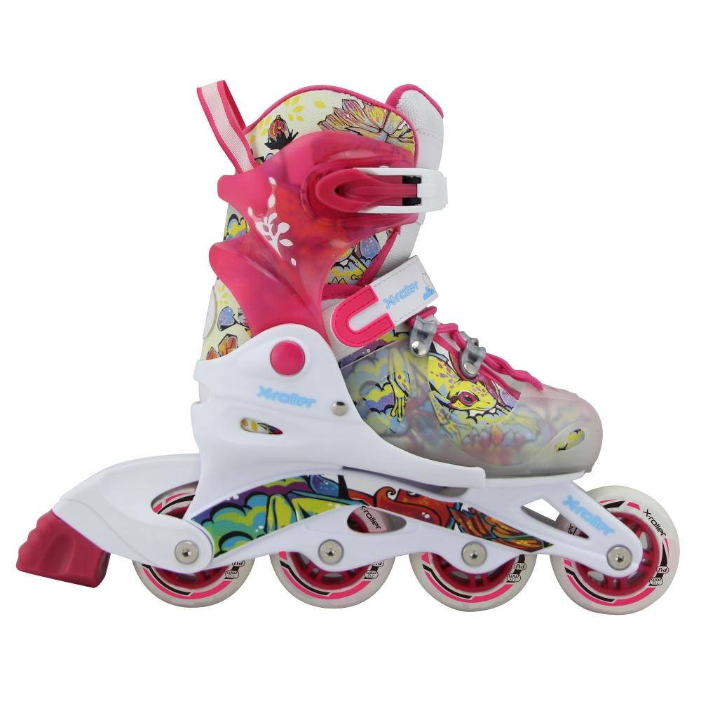 Detské kolieskové korčule X-Roller PW-116