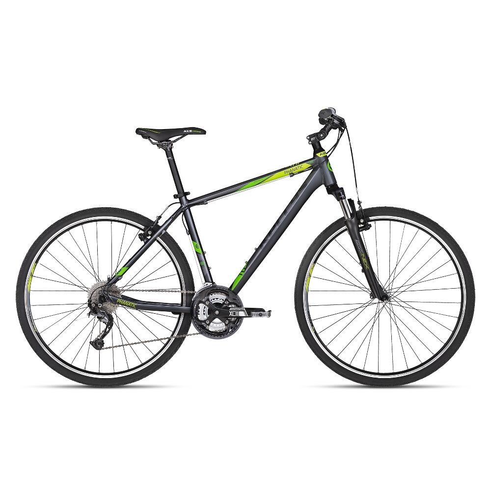 """Pánsky crossový bicykel KELLYS PHANATIC 10 28"""" - model 2018 Dark Green - 17"""" - Záruka 10 rokov"""