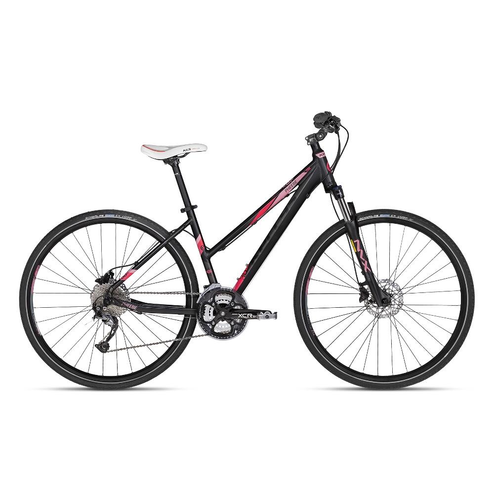 """Dámsky crossový bicykel KELLYS PHEEBE 30 28"""" - model 2018 Dark Pink - 17"""" - Záruka 10 rokov"""