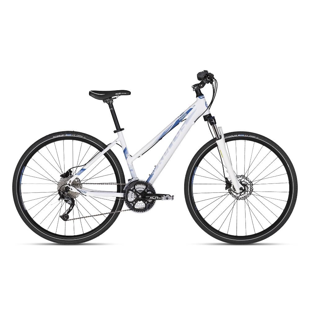 """Dámsky crossový bicykel KELLYS PHEEBE 30 28"""" - model 2018 White - 19"""" - Záruka 10 rokov"""