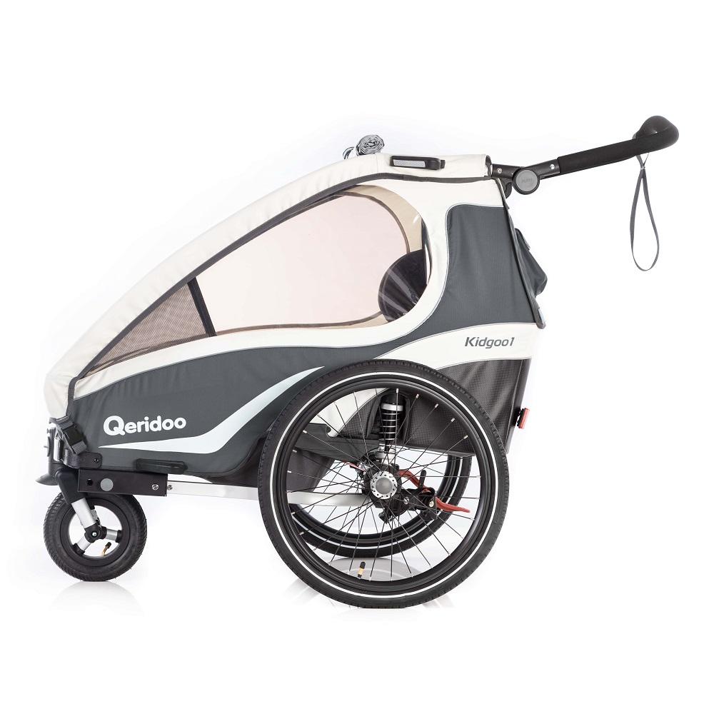 Multifunkčný detský vozík Qeridoo KidGoo 1 2019 Anthracit