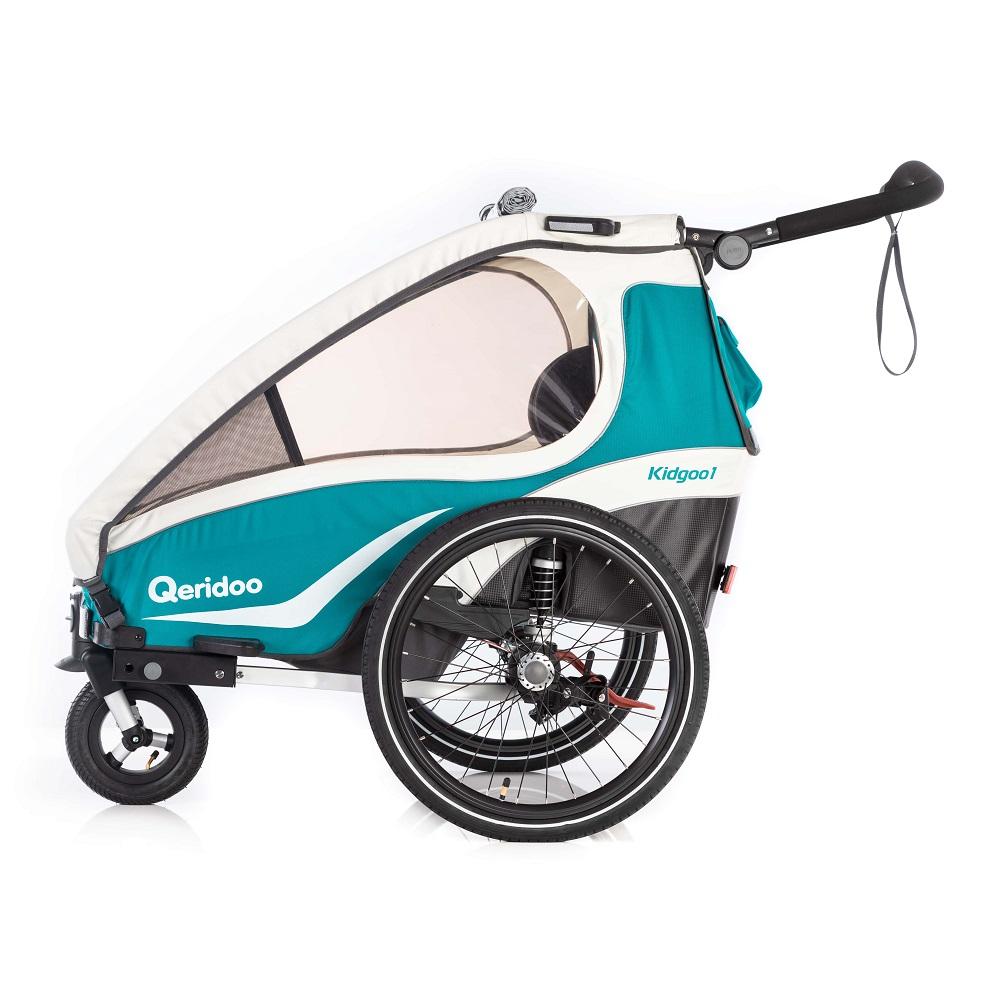 Multifunkčný detský vozík Qeridoo KidGoo 1 2019 Aquamarin
