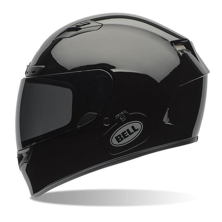 Moto prilba BELL Qualifier DLX Solid Black - L (59-60) - Záruka 5 rokov