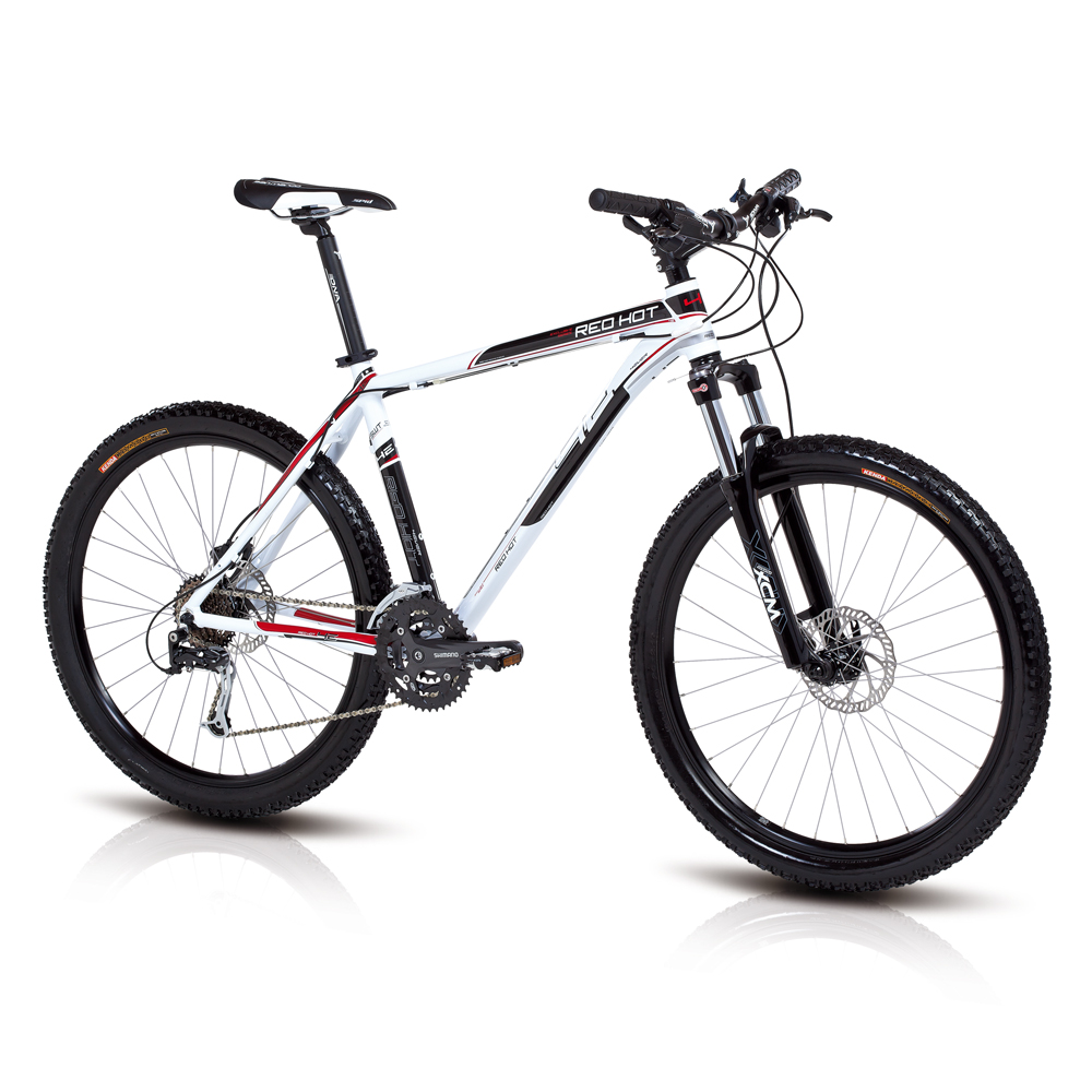 Horský bicykel 4EVER Red Hot 2013 - kotúčové brzdy