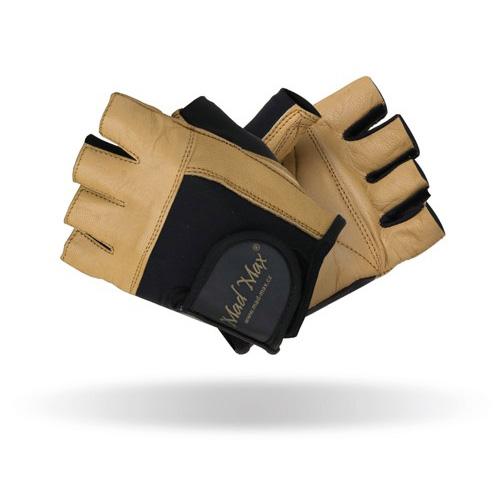 Fitness rukavice Mad Max Natural L