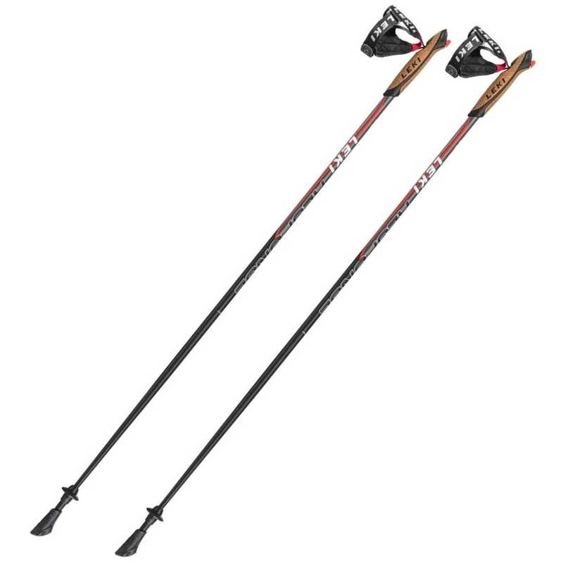 Nordic Walking palice Leki Response 2017 Anthracite-Red