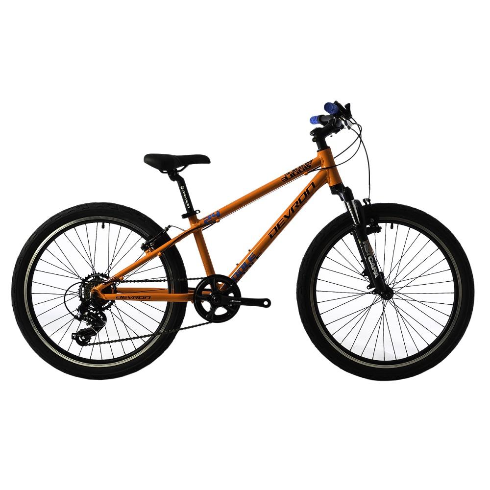 "Juniorský bicykel Devron Riddle Kids 2.4 24"" - model 2018 Orange - Záruka 10 rokov"