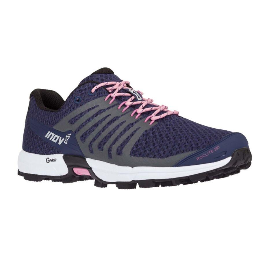 Dámske trailové topánky Inov-8 Roclite 290 (M) Navy/Pink - 37