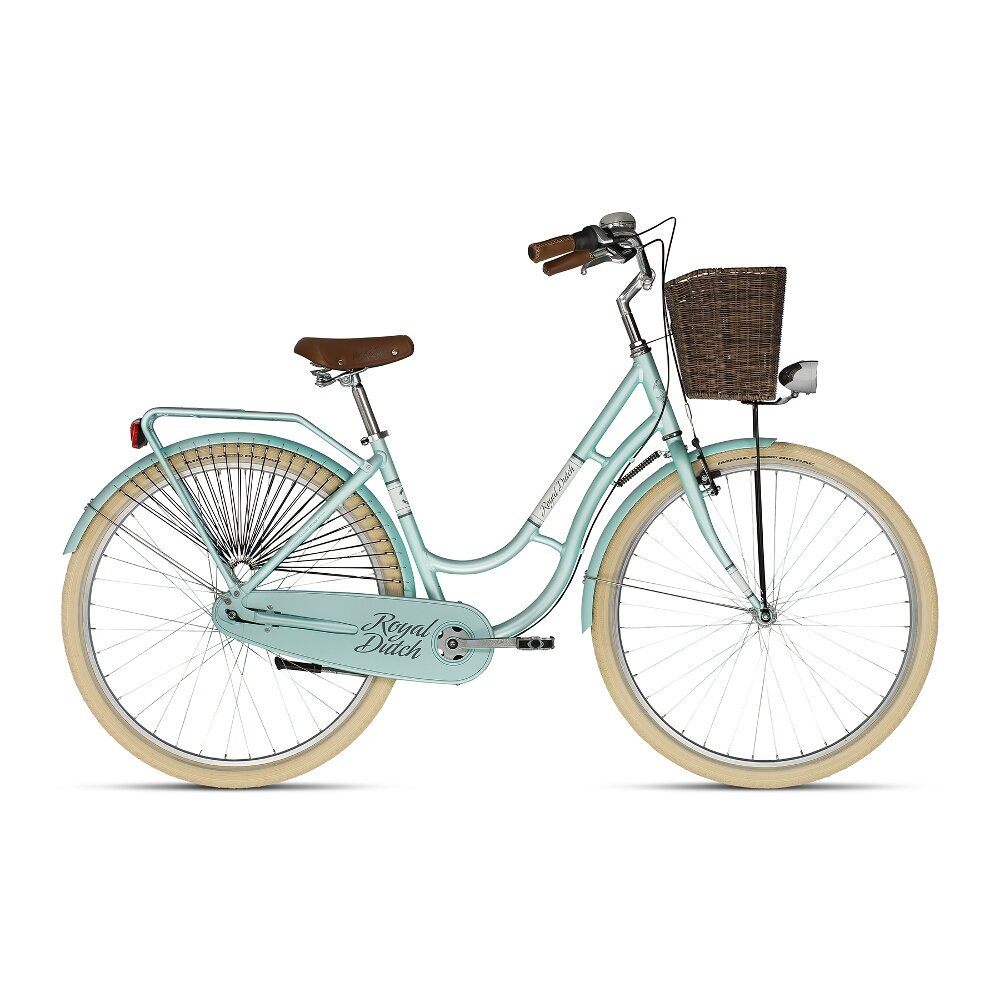 "Mestský bicykel KELLYS ROYAL DUTCH 28"" - model 2018 Menthol - 460 mm (18"") - Záruka 10 rokov"