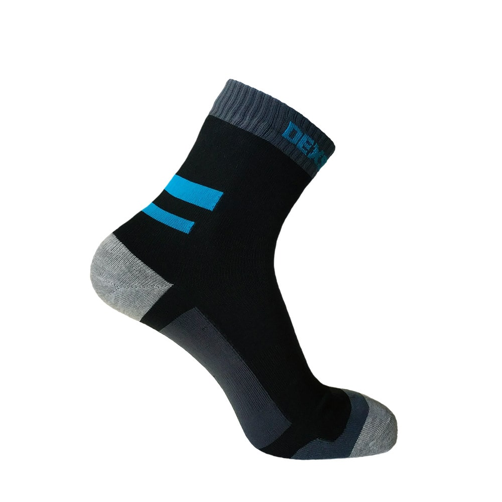 Nepromokavé ponožky DexShell Running Aqua Blue - S