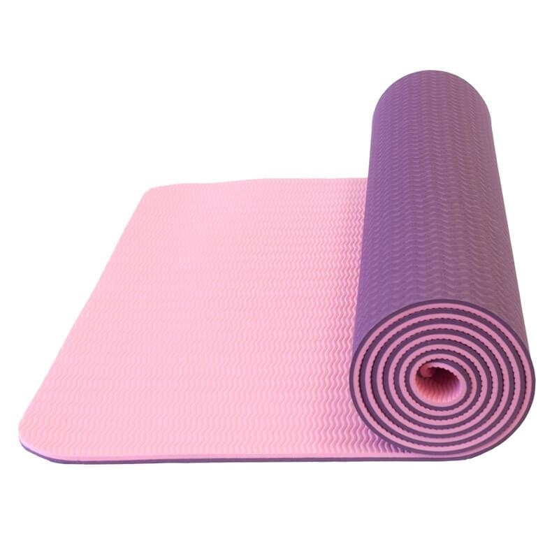 Dvojvrstvová podložka na jógu Yate Yoga Mat TPE