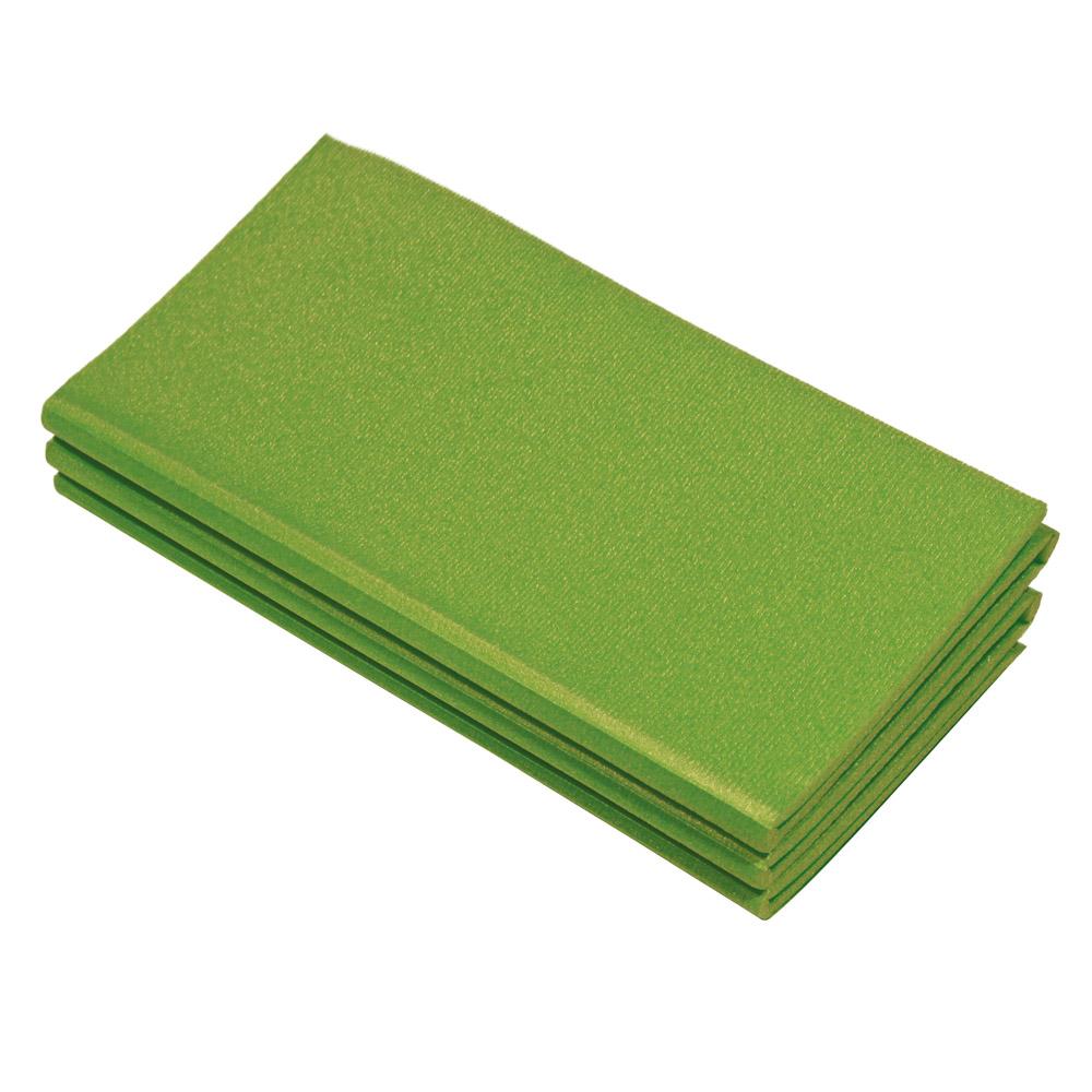 Karimatka Yate skladacia 180 x 50 x 0,8 cm 6D zelená
