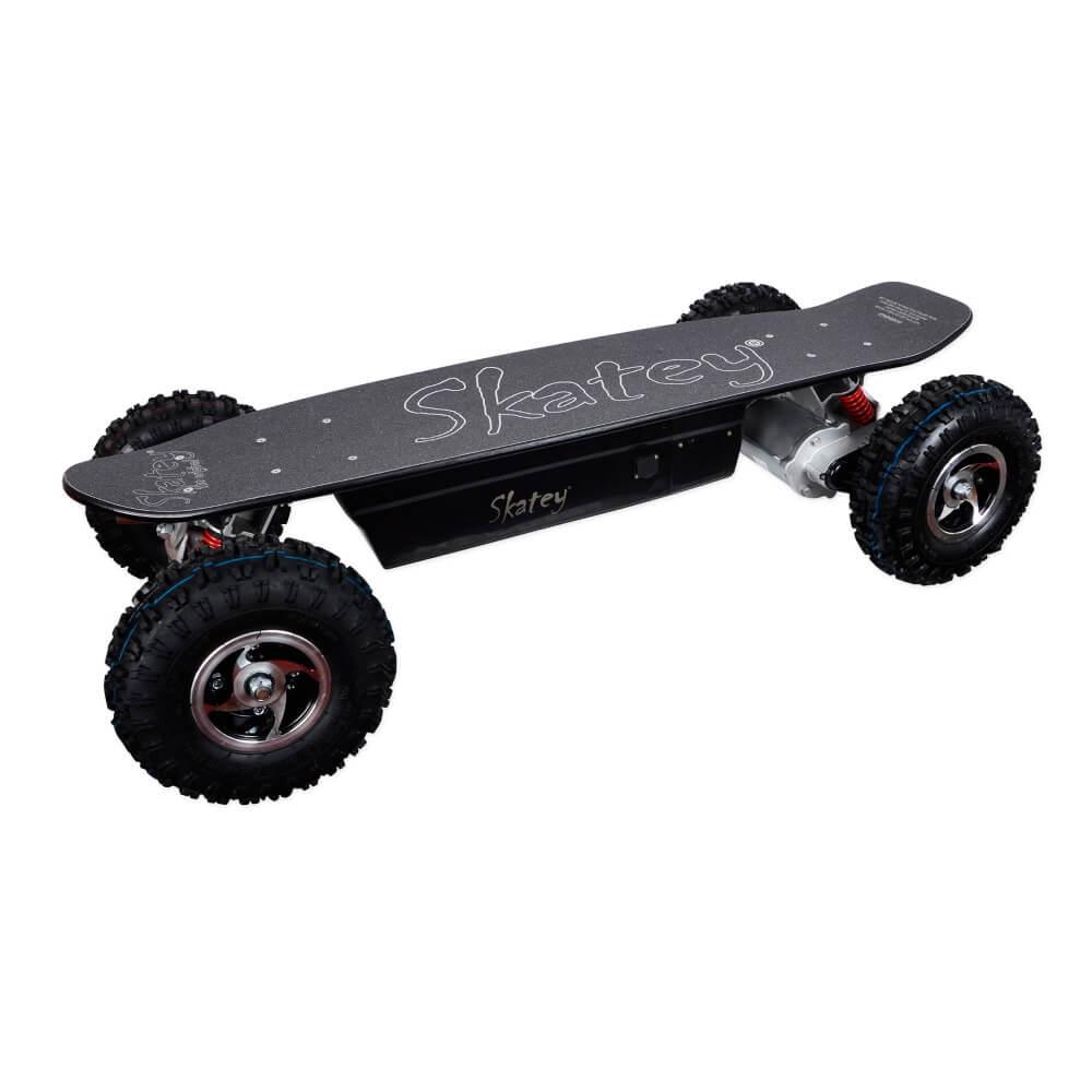 Elektrický longboard Skatey 800 Off-road čierny