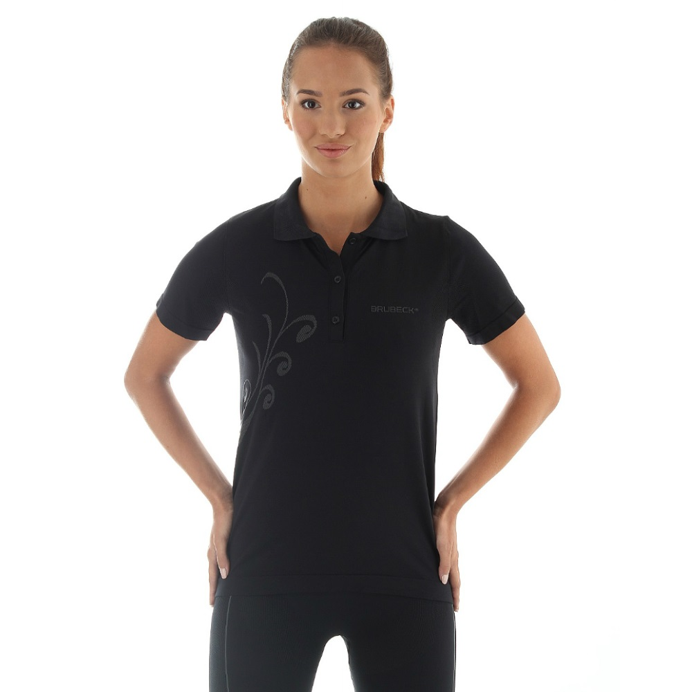 Dámske termo tričko Brubeck PRESTIGE s limcom