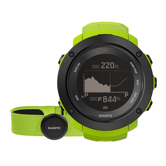 Športové hodinky Suunto Ambit3 Vertical (HR) limetková