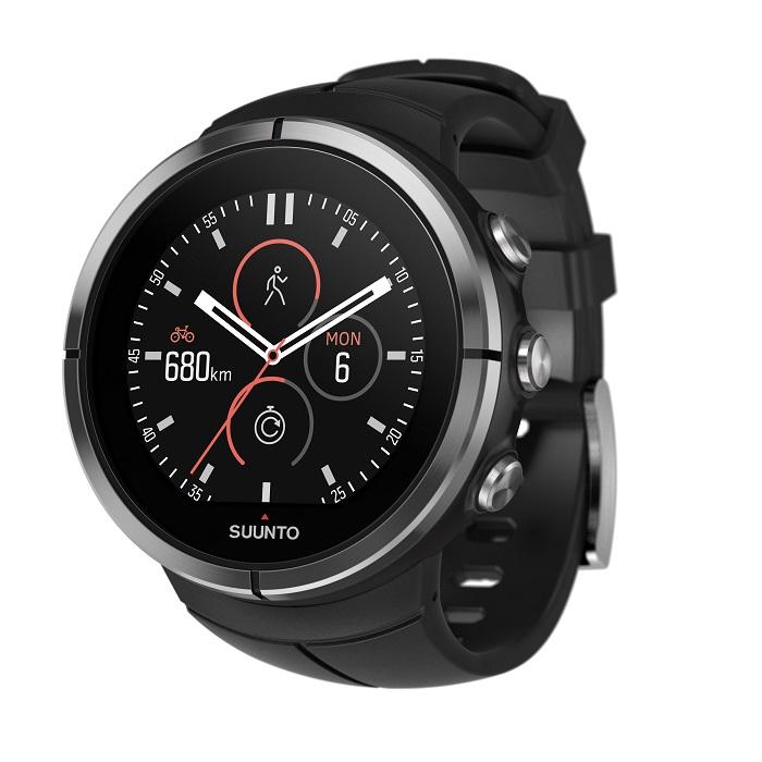 Športové hodinky SUUNTO Spartan Ultra Black