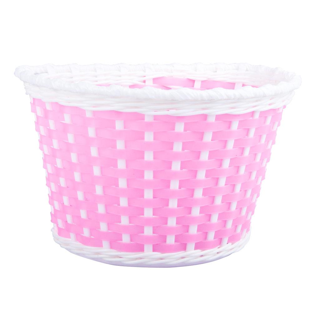 Detský plastový košík ružový ružová