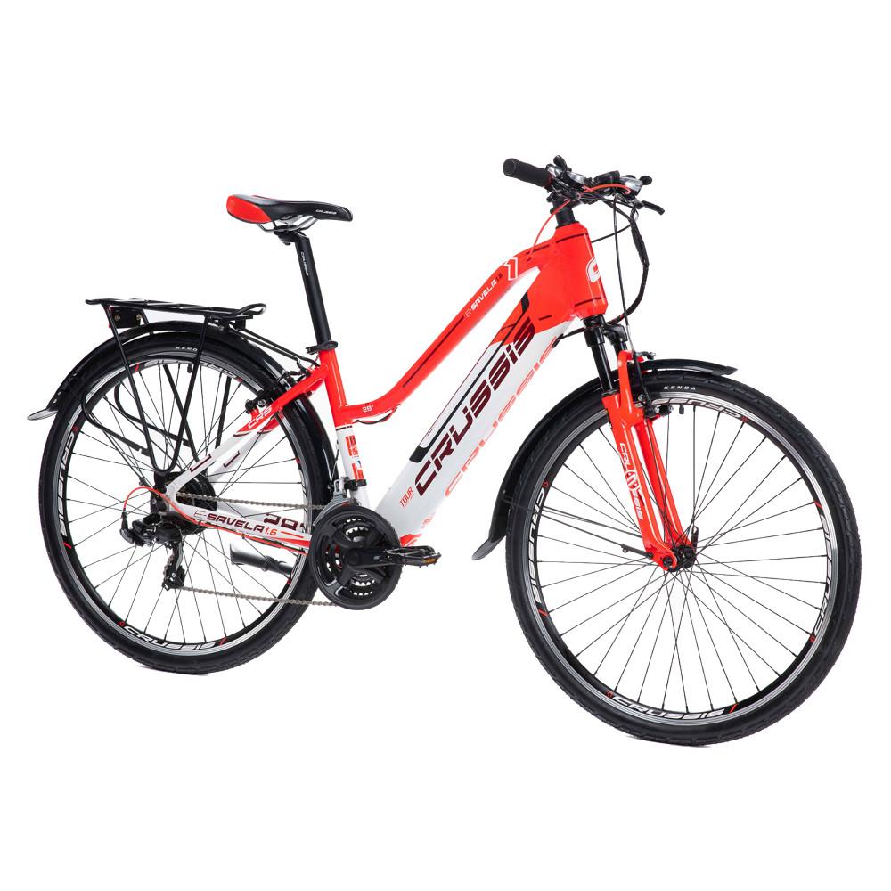 """Dámsky trekingový elektrobicykel Crussis e-Savela 1.6 - model 2021 17"""" - Záruka 10 rokov"""