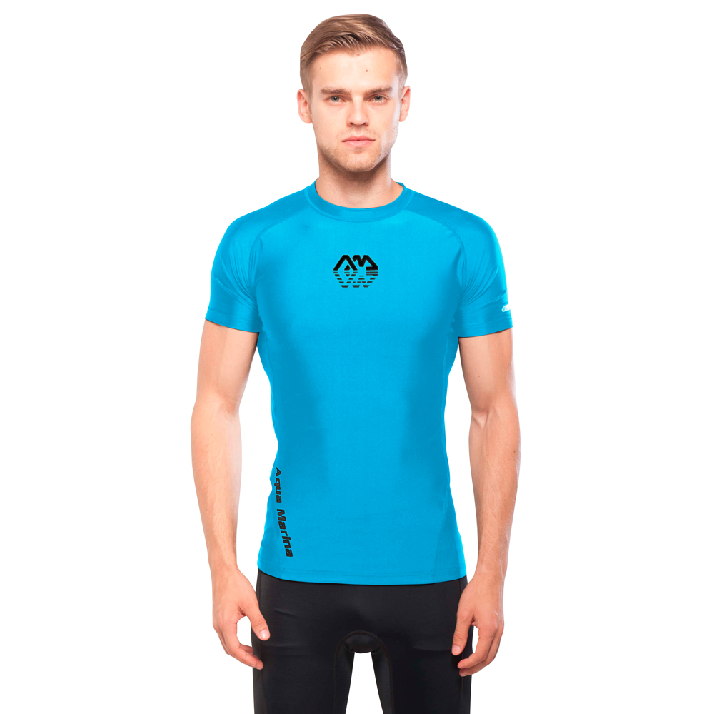 Pánské tričko pre vodné športy Aqua Marina Scene modrá - XL