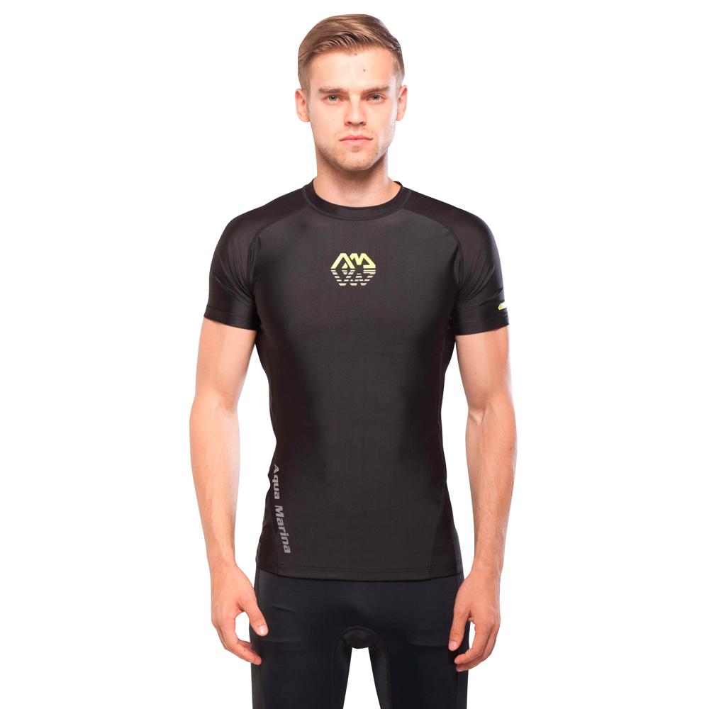 Pánské tričko pre vodné športy Aqua Marina Scene čierna - S