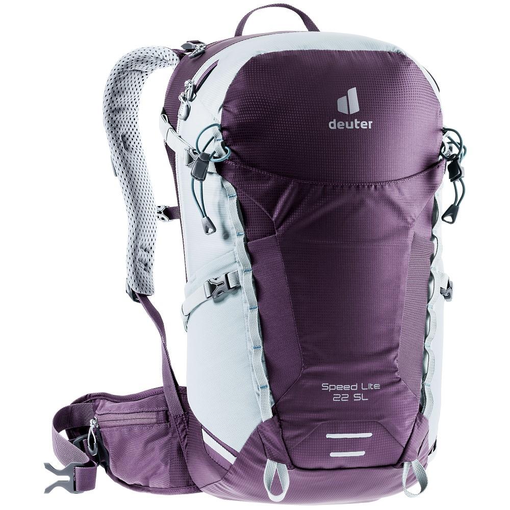 Turistický batoh Deuter Speed Lite 22 SL plum-tin